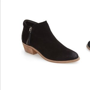 Steve Madden leather suede booties tobii size 8.5